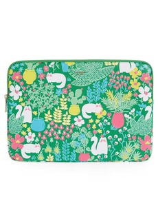 kate spade new york garden universal laptop sleeve