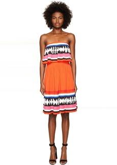 Kate Spade New York Geo Border Pleated Dress