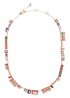 "kate spade new york Geo Gems Collar Necklace, 17"""
