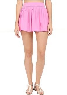 Kate Spade New York Georgica Beach Pleated Cover Up Skirt