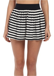 Kate Spade New York Georgica Beach Stripes Cover-Up Skirt