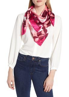 kate spade new york geospade square silk scarf