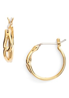 kate spade new york get connected hoop earrings