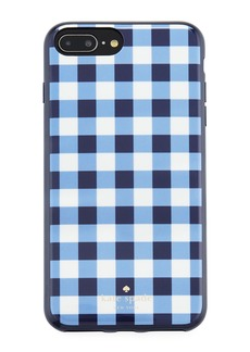 kate spade new york gingham resin phone case for iPhone® 7/8 Plus