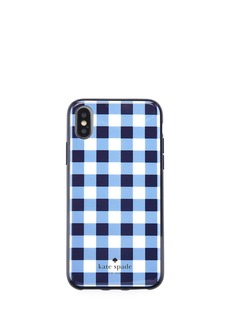 kate spade new york gingham resin phone case for iPhone® X