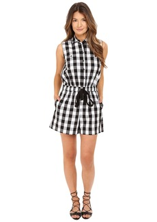 Kate Spade New York Gingham Romper