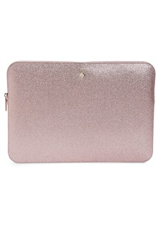 kate spade new york glitter universal laptop sleeve