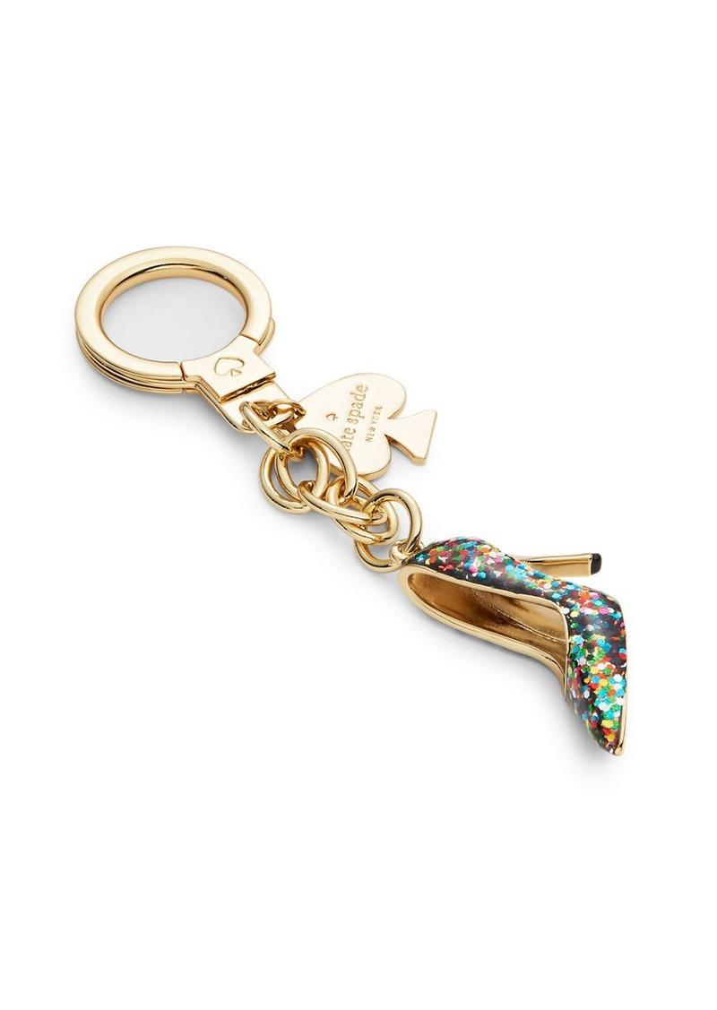 KATE SPADE NEW YORK Glittering Pump Keychain