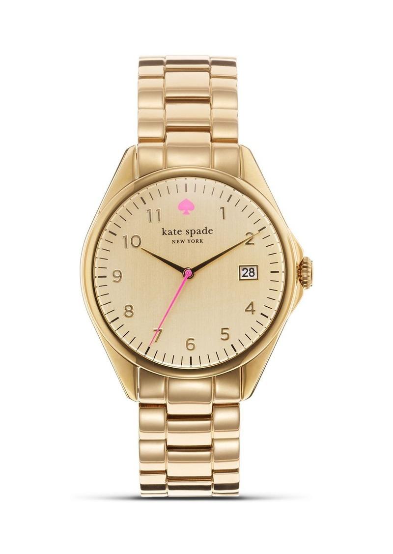 Kate Spade New York Gold Seaport Bracelet Watch 38mm