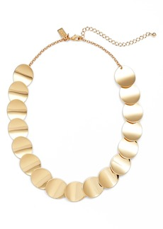 kate spade new york gold standard crew necklace