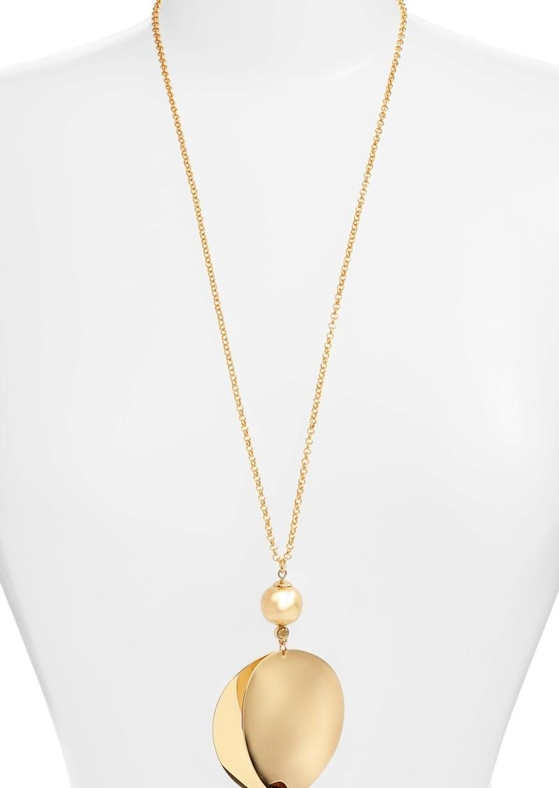 Kate Spade kate spade new york gold standard pendant necklace