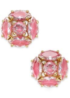 kate spade new york Gold-Tone Crystal Cluster Stud Earrings