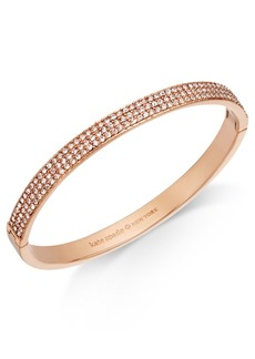 kate spade new york Gold-Tone Pave Bangle Bracelet