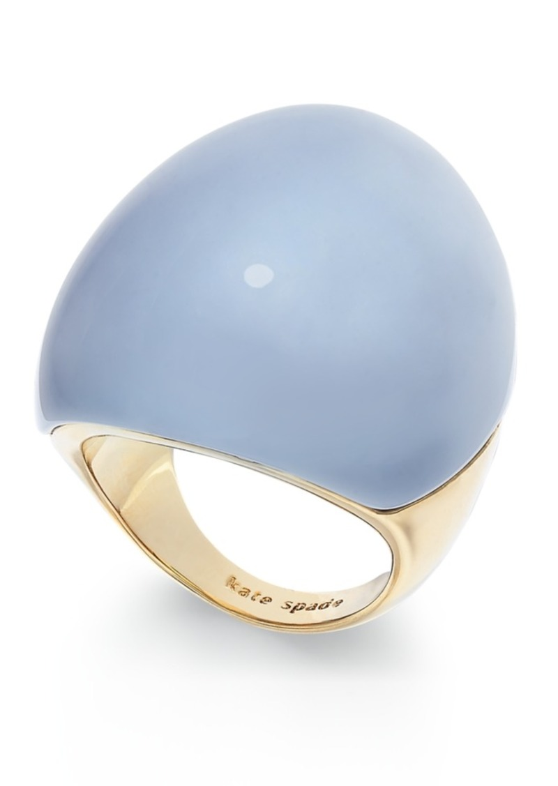 Kate Spade New York Gold-Tone Resin Statement Ring