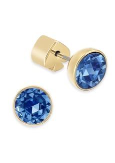 Kate Spade New York Stainless Steel Colored Crystal Stud Earrings