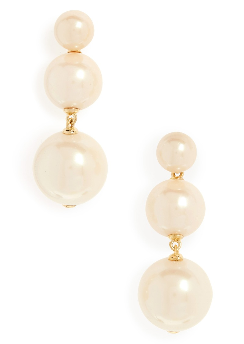 Kate Spade New York Golden Bauble Drop Earrings