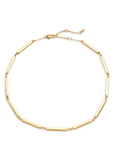 Kate Spade New York Goldtone Collar Necklace