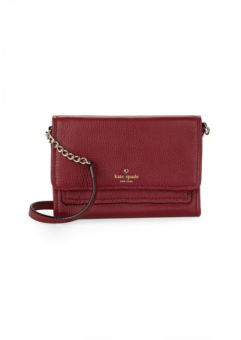 KATE SPADE NEW YORK Gracie Leather Crossbody Bag