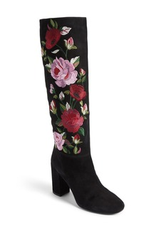 kate spade new york greenfield flower embroidered boot (Women)