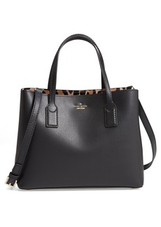 kate spade new york hadley road small dina leather shoulder/crossbody bag