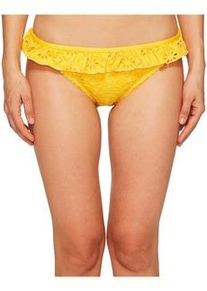 Kate Spade Half Moon Bay #58 Ruffle Classic Bikini Bottom