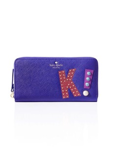 kate spade new york Hartley Lane Lacey Letter Wallet