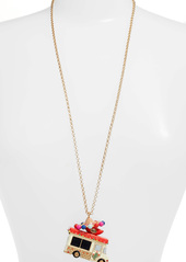 kate spade new york haute stuff taco truck pendant necklace