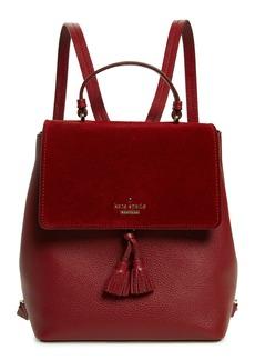 kate spade new york hayes street - teba leather & suede backpack