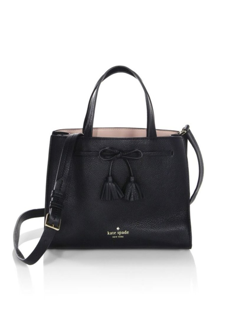 Kate Spade Hayes Street Small Isobel Convertible Leather Satchel ... 2ddf674bf83c5