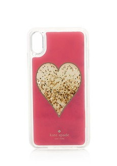 kate spade new york Heart Glitter iPhone X Plus, XS & X2 Case