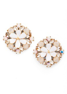 kate spade new york here comes the sun crystal stud earrings