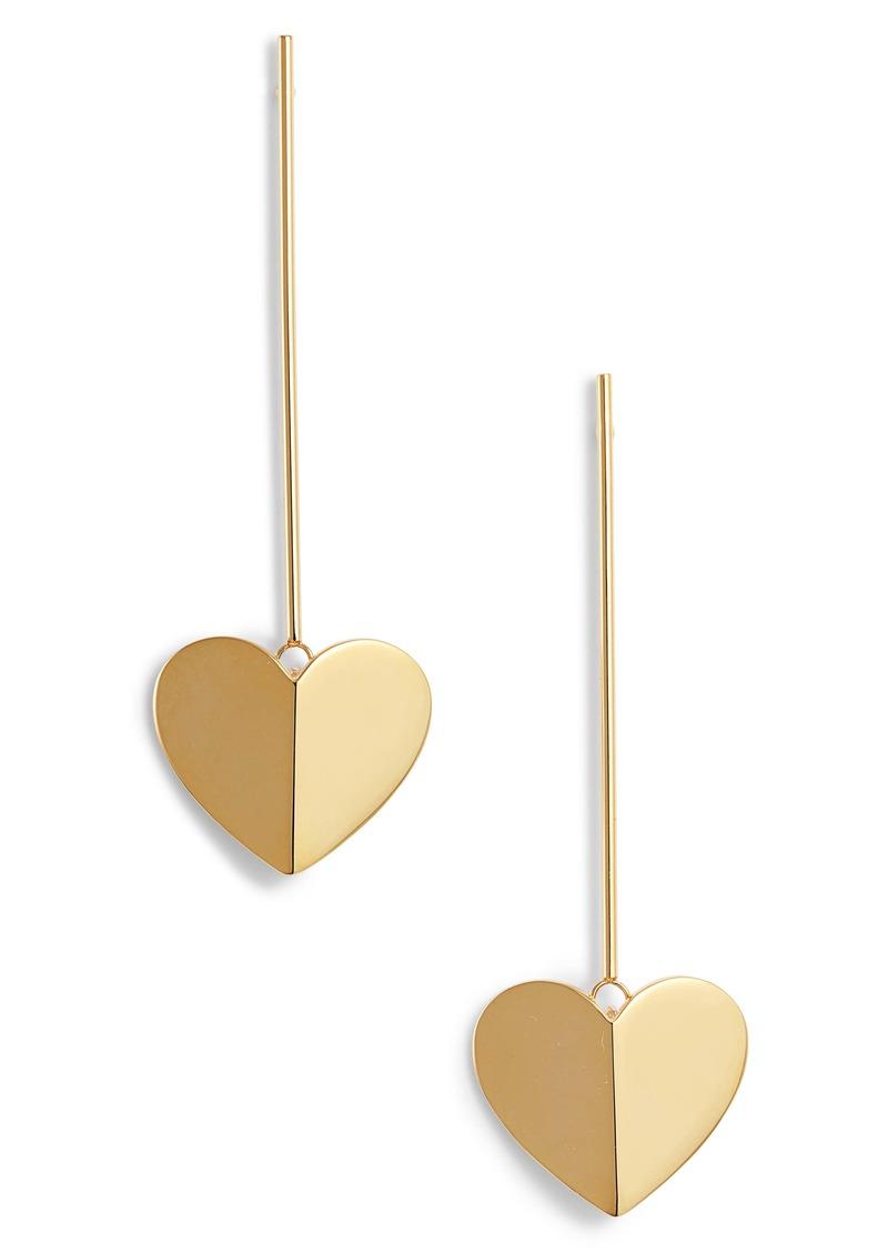 kate spade new york heritage spade linear earrings