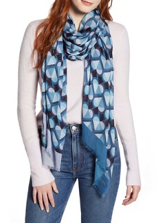 kate spade new york honeycomb oblong scarf