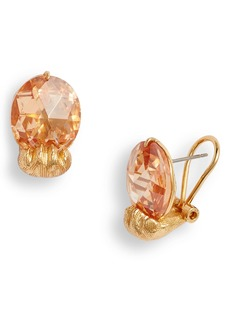 kate spade new york house cat paw stud earrings