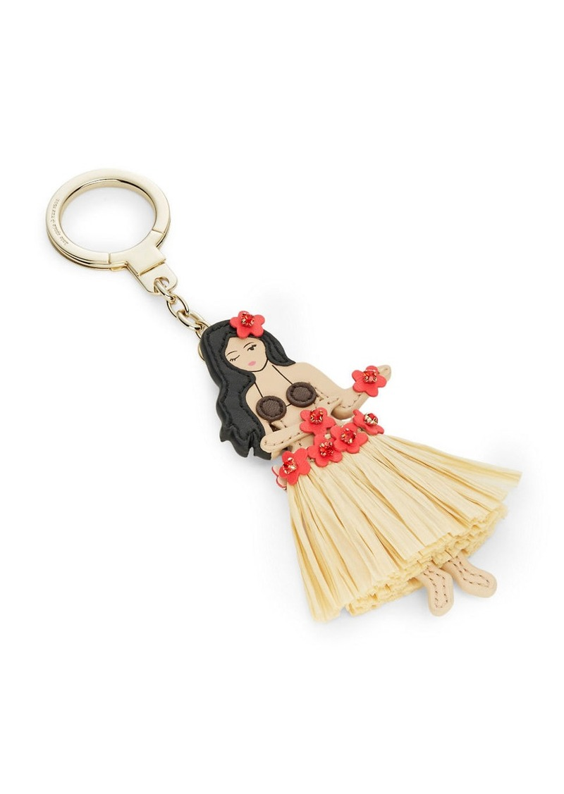 KATE SPADE NEW YORK Hula Girl Purse Charm