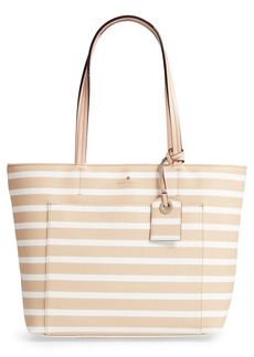 kate spade new york hyde lane - small riley faux leather tote