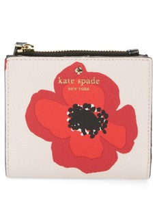 kate spade new york hyde lane poppy adalyn leather wallet