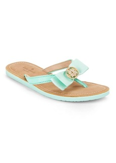 Kate Spade New York Ida Leather Thong Sandals