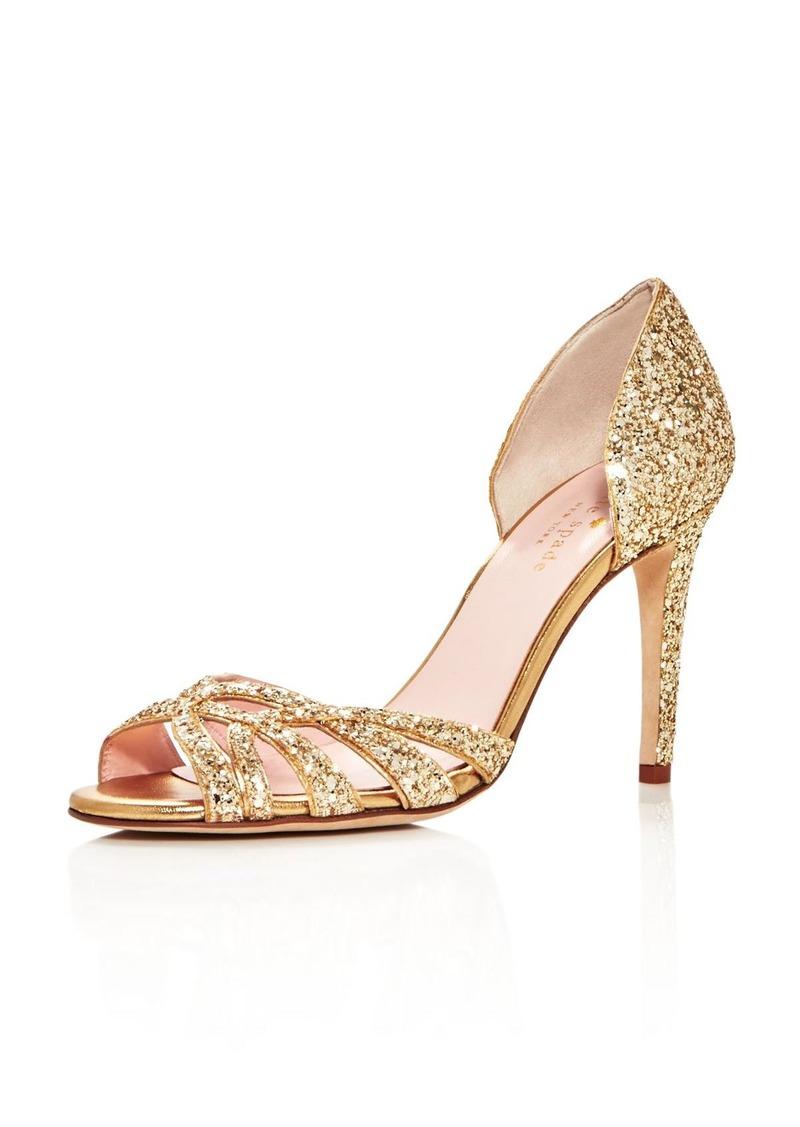 e3df68a6adf7 SALE! Kate Spade kate spade new york Idaya Glitter d Orsay High Heel ...