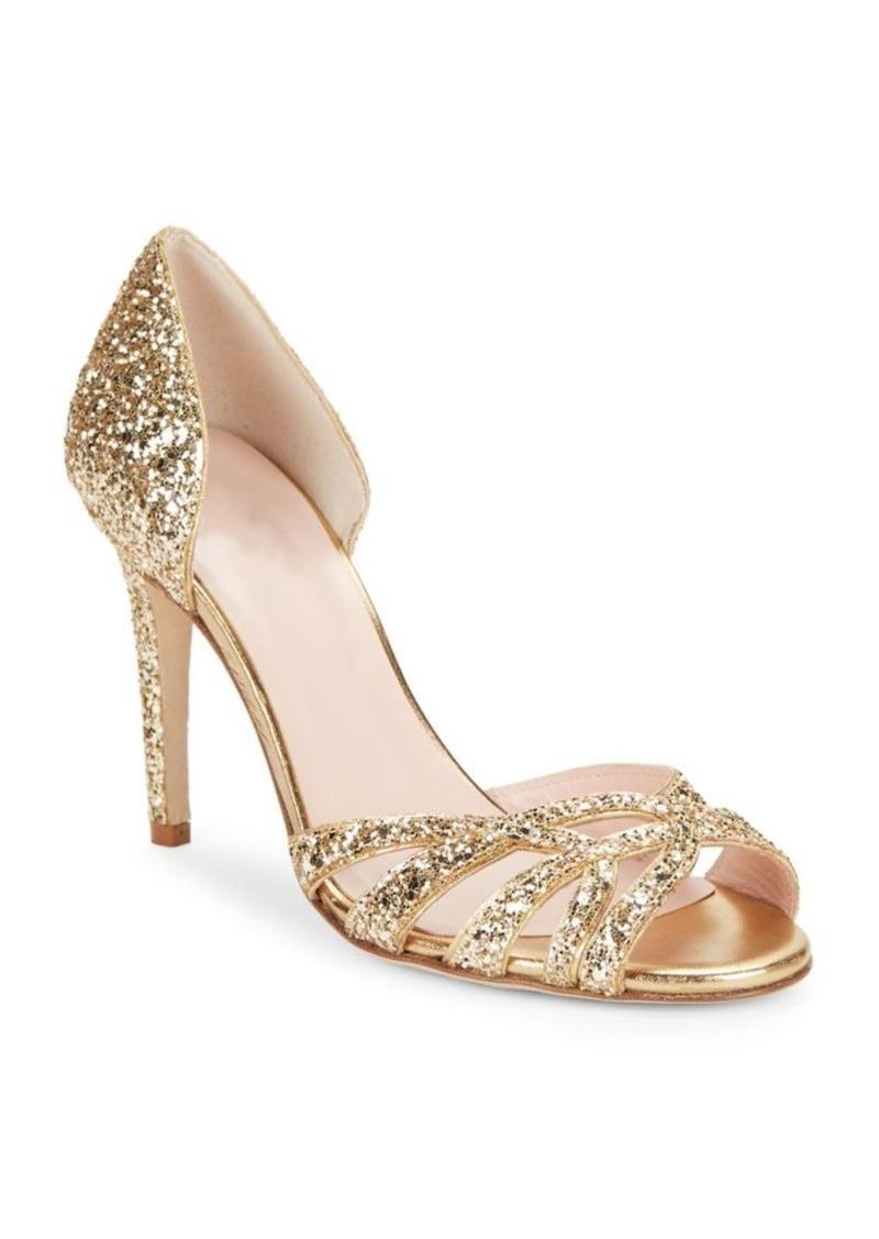 341421049cd9 Kate Spade Kate Spade New York Idaya Glitter Heels