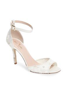 kate spade new york ideline floral lace sandal (Women)