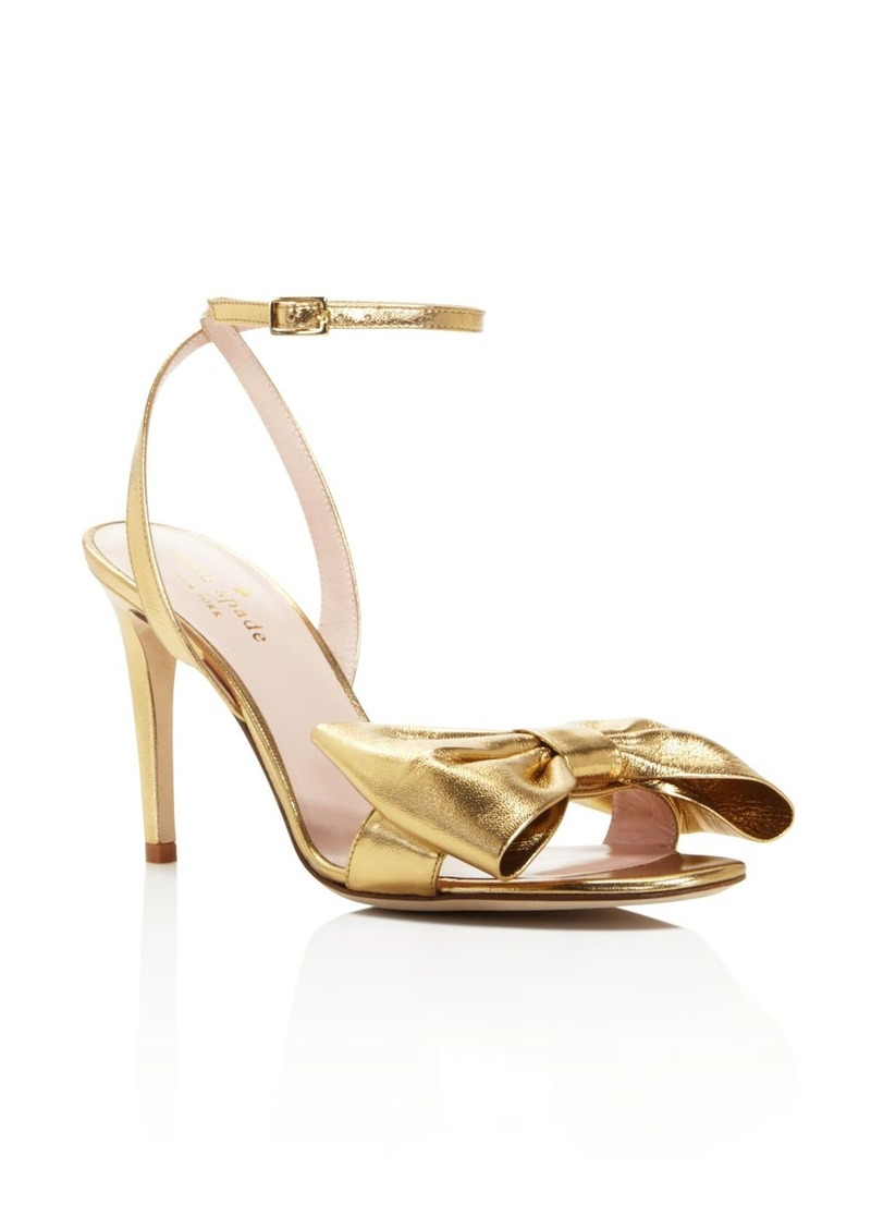 kate spade new york Idella Bow Ankle Strap Sandals