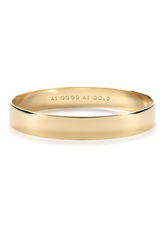 kate spade new york 'idiom - good as gold' bangle