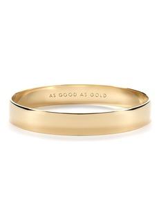 kate spade new york 'idiom - good as gold' bangle