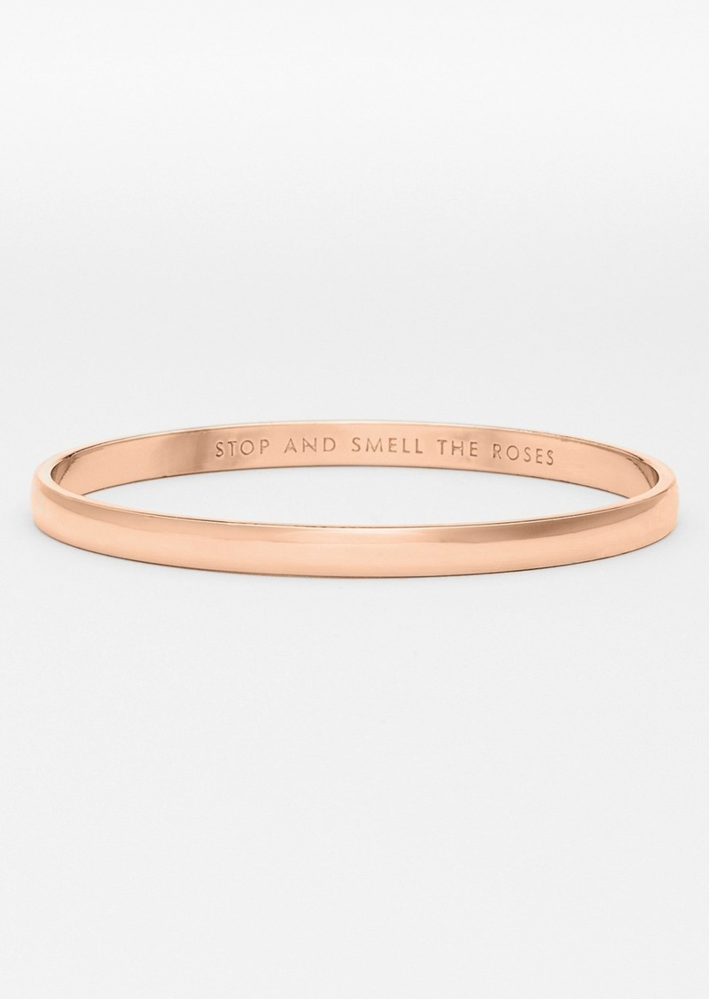 kate spade new york stop and smell the roses bangle