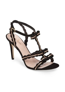 kate spade new york ilene scalloped t-strap sandal (Women)