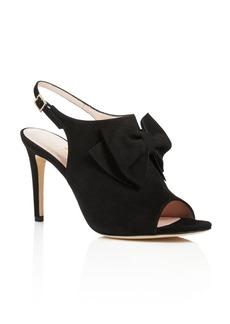 kate spade new york Ilyse Bow Open Toe Slingback Sandals