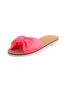Kate Spade indi fabric slide sandal