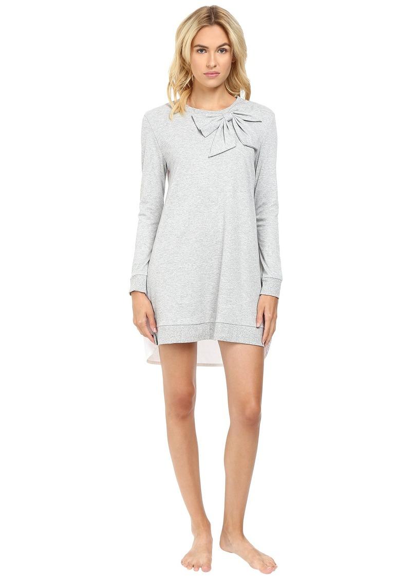 Kate Spade New York Interlock & Poplin Sleepshirt