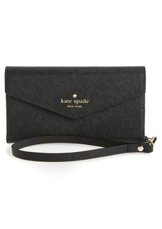 kate spade new york iPhone 7/8 & 7/8 Plus leather wristlet